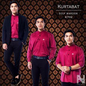 Kurtabat by HANA (Ruby Maroon)