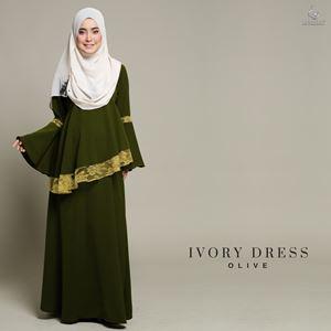 Ivory Dress : Olive