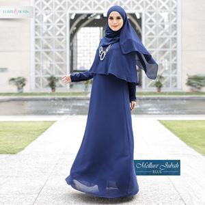 Mellur Jubah - Blue