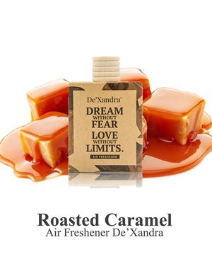 ROASTED CARAMEL AIR FRESHENER - 10ML