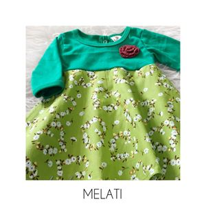 SALE Aisya Dress ( Melati ) XXS  sahaja (paling kecil)