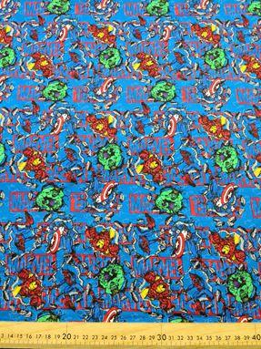 MARVEL SUPERHERO BLUE 0203