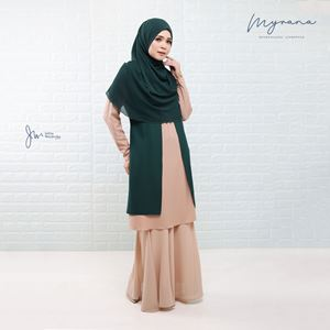 MYRANA ENTHUSIASTIC LIFESTYLE BLOUSE (EMERALD GREEN)