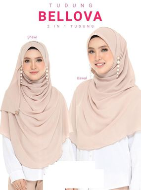 BELLOVA 2 in 1 SHAWL