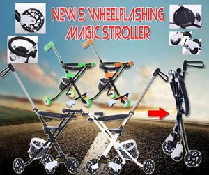 Magic stroller With BASKET (5WHEEL + FENCE)