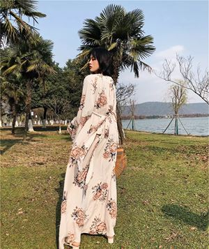 Samantha Floral Long Dress