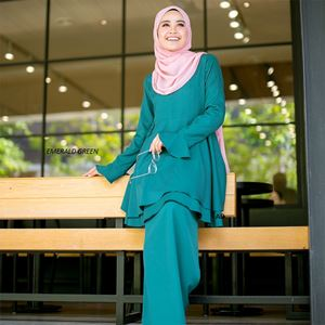 Baju Kurung Zakiah ( Emerald Green)