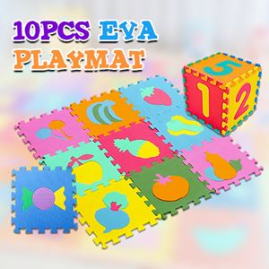 10PCS EVA PLAYMAT