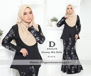 Kurung Mia Bella Black