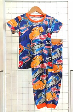 Pyjamas CARS BLUE  : BABY 12M - 36M (GL)