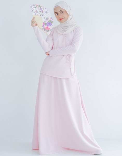 KIMBERLY SKIRT IN PASTEL PINK