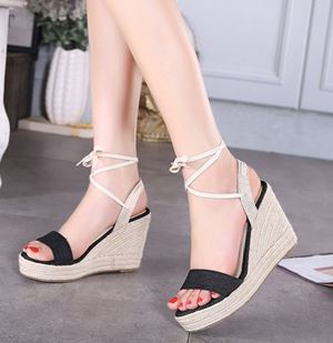 Shoe 2728 Black | Blue