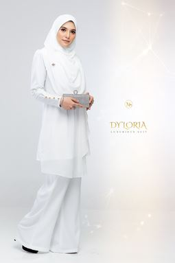 DY'LORIA LUXURIOUS SUIT (WHITE)