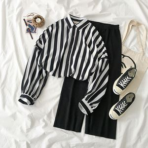 Casual Foreign Stripe Shirt