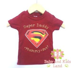 Boys T-shirt - Super Daddy