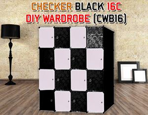 CHECKER 16C DIY WARDROBE (CWB16)