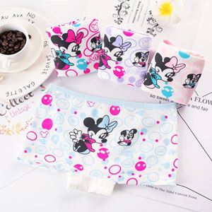 Minnie Mouse Girls Panties 4pcs/set