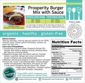 Prosperity Burger Patties Mix