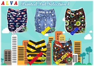 Alva Baby Diaper(Normal printing)SOLD OUT