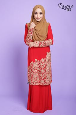 RAYNE LACE SERIES- RED