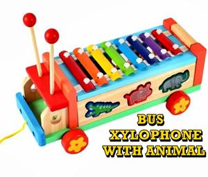 BUS XYLOPHONE WITH ANIMAL