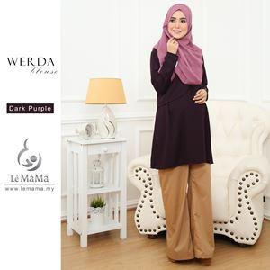 Werda Blouse : Dark Purple