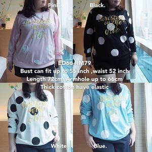ED66 Ready Stock *Bust fit up to 50 inch /127cm
