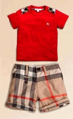 B042/12 BURBERRY RED 002 SHORT