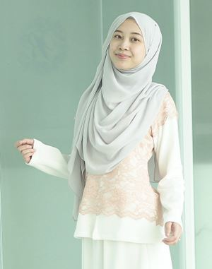 MARIA TOP IN DUSTY PINK