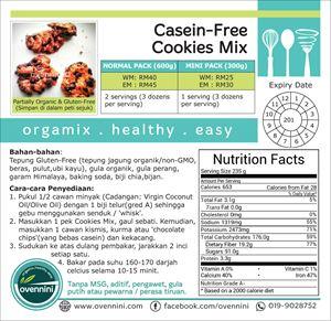Casein-Free Cookies Mix.