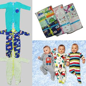 SLEEPSUITS BABY (3 PACK)