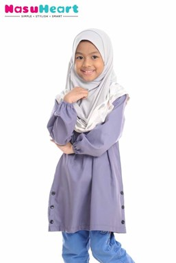 IZZAH DUSTY PURPLE