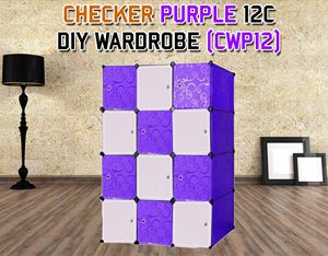 CHECKER 12C DIY WARDROBE (CWP12)