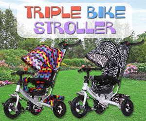 Triple Bike Stroller