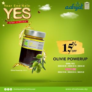 OLIVIE POWER UP (OPU) END YEAR SALE 15% OFF
