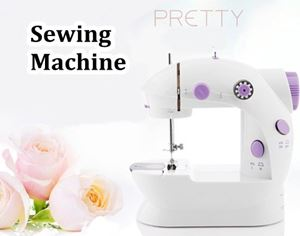 Mini Sewing Machine ( with AC Adapters)