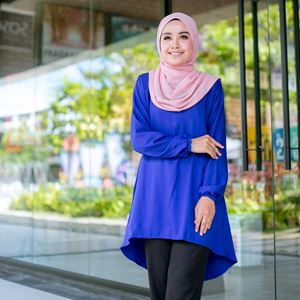 BLOUSE FELISHA - BLUE
