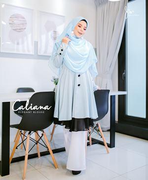 Caliana ( Viory Blue )