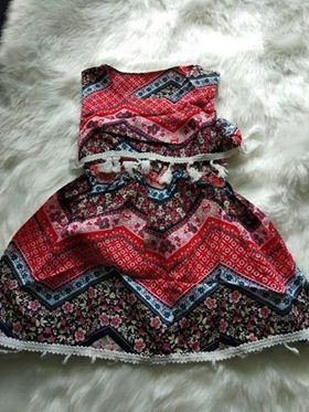GIRL DRESS 1 PCS SET ( SET 6 ) SZ S-2XL