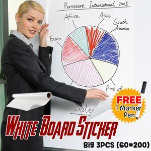 WHITE BOARD STICKER SET (Big 3pcs)