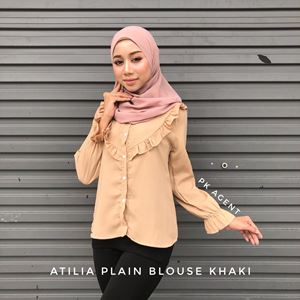 ATILIA PLAIN BLOUSE