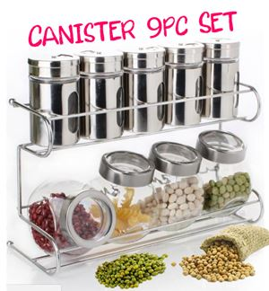 Canister 9pc Set