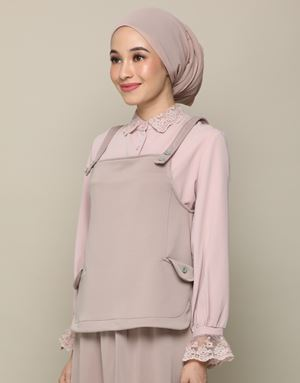 ADELINE TOP IN COCOA