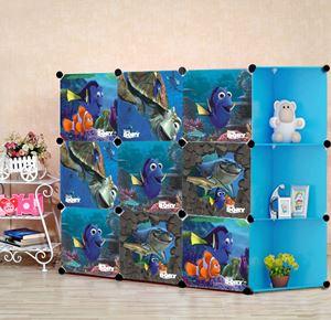 Nemo 9C Blue DIY Wardrobe (NE9CB)