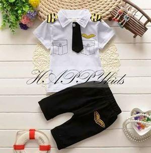 Baby & Kids Pilot Clothes - White