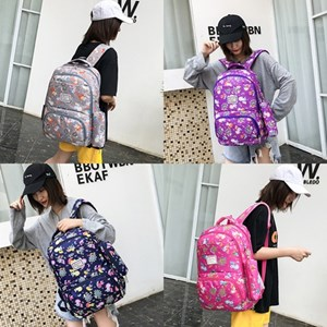 994124 UNICORN FOX PRIMARY GIRL SCHOOL BAG - Design 2