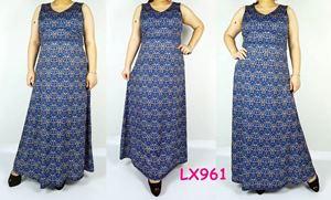 LX961*Bust108-126cm