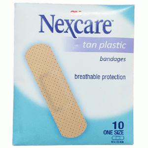 NEXCARE TAN PLASTIC BANDAGES