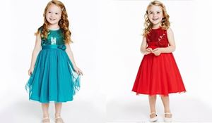 @  P30940  BLING RED DRESS ( 3 FLOWER )