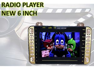 VIDEO PLAYER NEW 6 INCH N00934